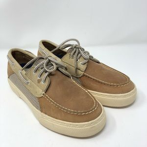 Sperry topsider leather boat shoes 7m